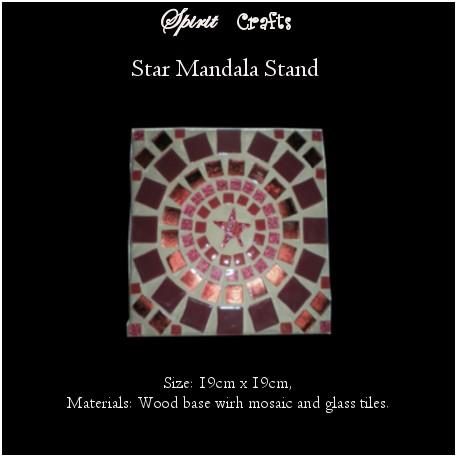 Stand Star Burgundy