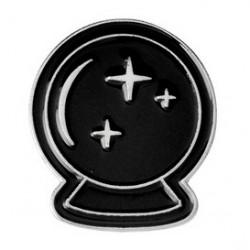 Crystal Ball Enamel Pin Badge