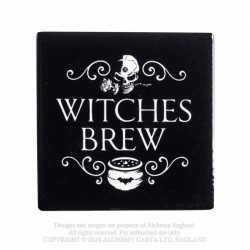 New Release! Alchemy Gothic CC6 Witches Brew Individual Ceramic Coaster