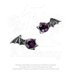 Alchemy Gothic E252 Matins Stud Earrings (pair)