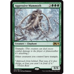 Magic: The Gathering MTG Single - Core Set 2019 (M19) - Aggressive Mammoth