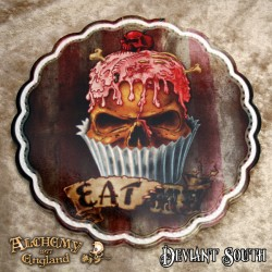 New Release! Alchemy Gothic CT7 Skull Cupcake