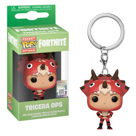 Funko Pocket Pop! Keychain: Fortnite - Tricera Ops