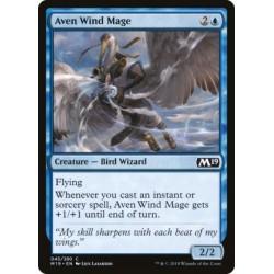 MTG Single - Core Set 2019 - Aven Wind Mage