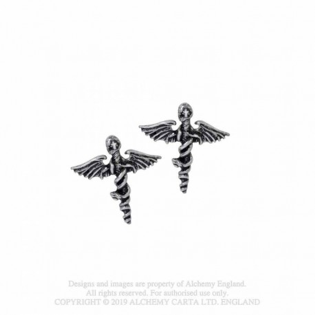 New Release! Alchemy Gothic PE15 Motley Crue: Dr. Feelgood Studs (pair)