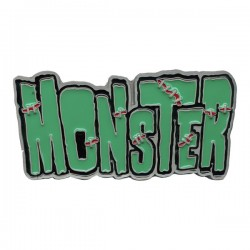 Kreepsville Monster Belt Buckle (belt not included)