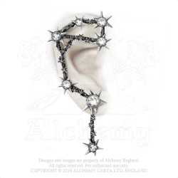 Last Chance! Alchemy Gothic E374 Daughters Of Darkness Ear-wrap