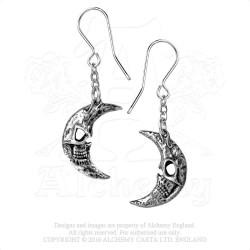 Alchemy Gothic E385 M'era Luna Crescens - Tragicom Moon (pair)