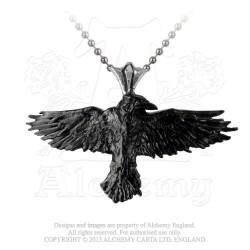 Alchemy Gothic P193 Black Raven