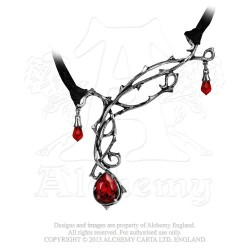Last Chance! Alchemy Gothic P530 Passion pewter pendant necklace