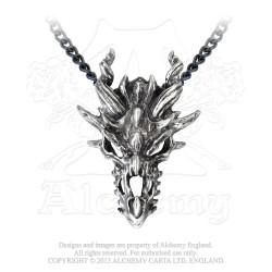Alchemy Gothic P625 Dragon Skull
