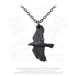 Alchemy Gothic P697 Ravenine necklace