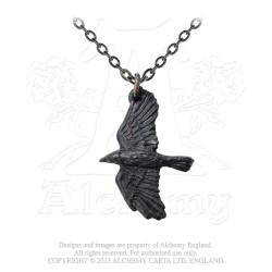 Alchemy Gothic P697 Ravenine necklace