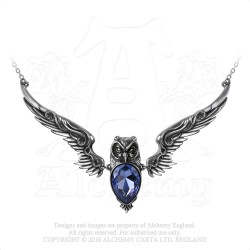 Alchemy Gothic P753 Stryx necklace