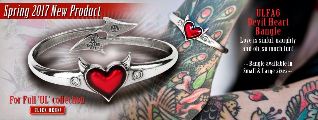 UL Devil Heart bracelet